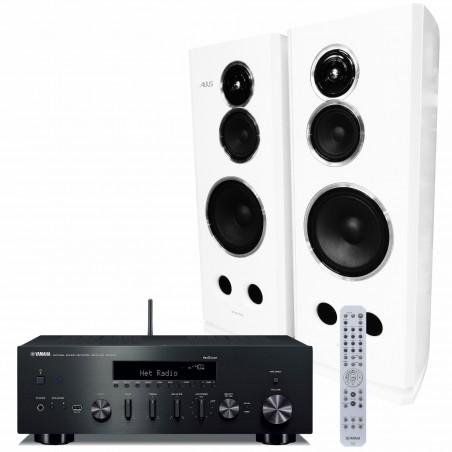 Yamaha R-N602 + Tonsil Altus 280 Zestaw stereo z MusicCast, RATY, DOSTAWA GRATIS