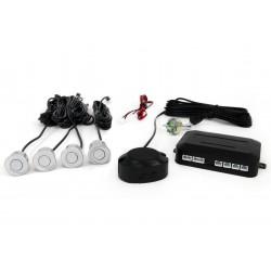 Zestaw czujników parkowania Vertex LED, 4 sensory, kolor srebrny