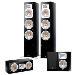 Zestaw kolumn głośnikowych kina domowego Yamaha NS-555 + NS-C444 + NS-333 system 5.0