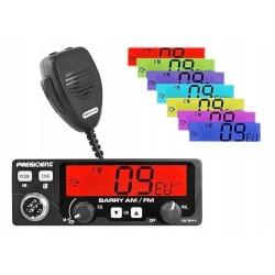 Radio CB President BARRY ASC AM/FM NB PL 12/24V