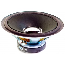 Głośnik niskotonowy Tonsil GDN 25/60/1 8Ω z membraną celulozową srebrną kopułką (Mildton 70, Mildton 80, Blues 120)
