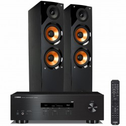 Yamaha R-S202D + Pure Acoustics Nova 6 Zestaw stereo z Bluetooth i tunerem DAB +, RATY