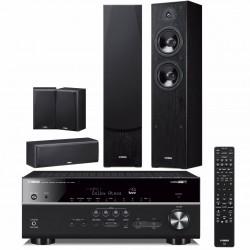 Zestaw kina domowego Yamaha RX-V685 z Bluetooth, MusicCast + kolumny Yamaha NS-F51 / NS-P51 system 5.0