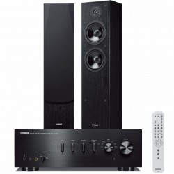 Zestaw stereofoniczny Yamaha A-S501 + kolumny Yamaha NS-F51 system 2.0