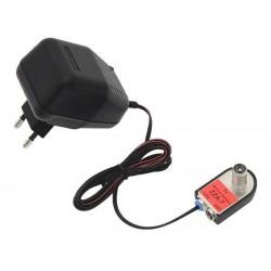 Antena DVB-T telewizyjna DIGIT ACTIVA biała z wbudowanym wzmacniaczem i zasilaczem