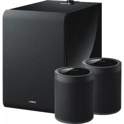 Zestaw Yamaha 2x MusicCast 20 + Sub 100, sieciowe głośniki bezprzewodowe z systemem multiroom MusicCast.