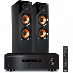 Zestaw stereofoniczny Yamaha A-S201 + kolumny Pure Acoustics Nova 6