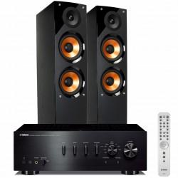 Zestaw stereofoniczny Yamaha A-S701 + kolumny Pure Acoustics Nova 6