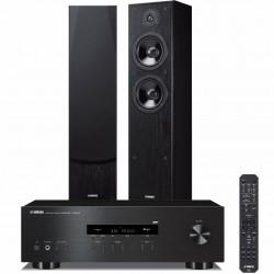 Zestaw stereofoniczny Yamaha R-S202D + kolumny Yamaha NS-F51 z Bluetooth, DAB+, system 2.0