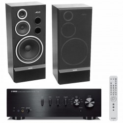 Zestaw stereofoniczny Yamaha A-S501 + kolumny Tonsil Altus 300