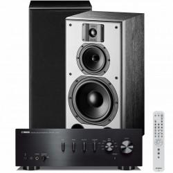 Zestaw stereofoniczny Yamaha A-S501 + kolumny Indiana Line DJ 308, system 2.0
