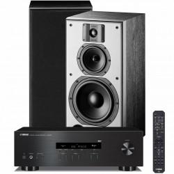 Zestaw stereofoniczny Yamaha R-S202D + kolumny Indiana Line DJ 308, system 2.0