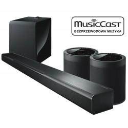 Zestaw kina domowego bezprzewodowy BAR 40 + SUB 100 + 2x MusicCast 20, system MusicCast