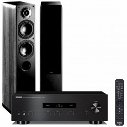 Zestaw stereofoniczny Yamaha A-S201 + kolumny Indiana Line Nota 550, system 2.0