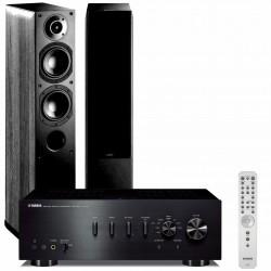 Zestaw stereofoniczny Yamaha A-S701 + kolumny Indiana Line Nota 550, system 2.0