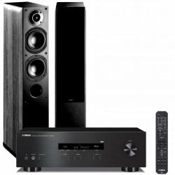 Zestaw stereofoniczny Yamaha R-S202D + kolumny Indiana Line Nota 550, Bluetooth, DAB+, system 2.0