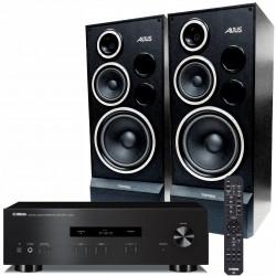 Zestaw stereofoniczny Yamaha A-S201 + kolumny Tonsil Altus 200