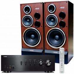 Zestaw stereofoniczny Yamaha A-S501 + kolumny Tonsil Altus 200