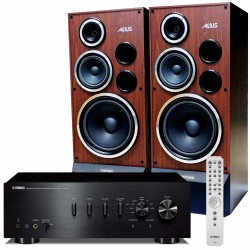 Zestaw stereofoniczny Yamaha A-S701 + kolumny Tonsil Altus 200