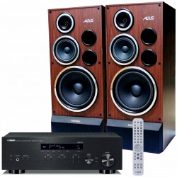 Zestaw stereofoniczny Yamaha R-N303D + kolumny Tonsil Altus 200, Hi-End z MusicCast i tunerem DAB+