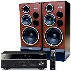 Zestaw stereofoniczny Yamaha RX-V485 MusicCast + kolumny Tonsil Altus 200
