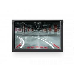Samochodowa kamera cofania z żyroskopem i czujnikami cofanai w ramce tablicy rejestracyjnej Peiying (PY0105P)