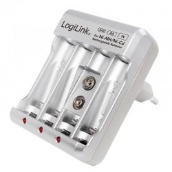 LogiLink Ni-Mh, Ni-Cd, AA, AAA, 9V...