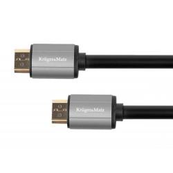 Kabel HDMI-HDMI 3m Kruger&Matz Basic...
