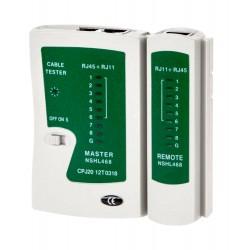 Tester kabli RJ45, RJ11, RJ12...