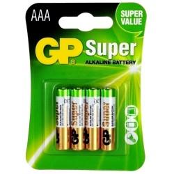 GP LR03 Super B4 Bateria...