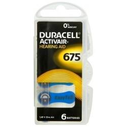 Duracell DA675 B6 Bateria słuchowa...