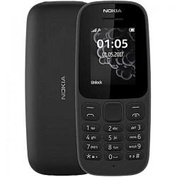 Nokia 105 2019 Dual Sim, telefon, czarny