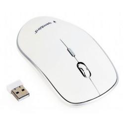 Gembird MUSW-4B-01-W, mysz optyczna...