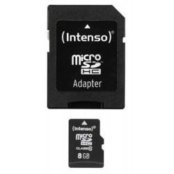 Intenso 8GB Micro SDHC Class 10 karta...