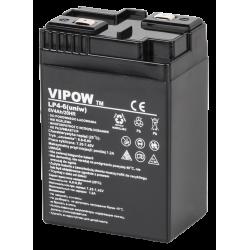 VIPOW 6V 4Ah Akumulator żelowy,...