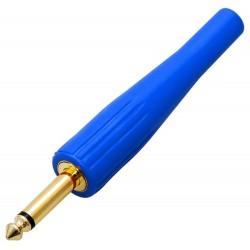 Wtyk Jack 6.3mm, mono, złocony,...