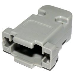 Obudowa złącza DB9F 9-pin, prosta. na...