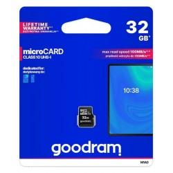 Goodram 32GB microCARD class 10 UHS-1...