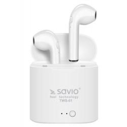 Savio TWS-01 Słuchawki Bluetooth z...