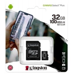 Kingston microSD 32GB Canvas Select...