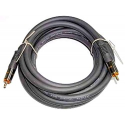 Kabel RCA-RCA Coaxial 1m