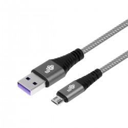 TB Kabel USB - Micro USB 1m szary...