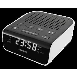 Sencor SRC 136 WH Radiobudzik FM