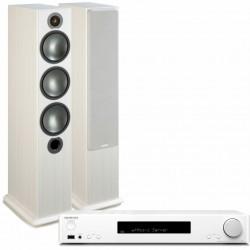 Onkyo TX-L20D-W + Monitor Audio...