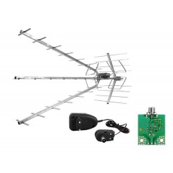 Antena DVB-T AP-TRIA COMBO VHF/UHF,...