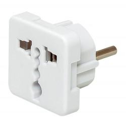 Adapter zasilania 230V wtyk PL na...
