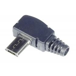Wtyk micro USB na kabel kątowy