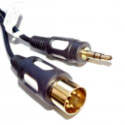 Kabel Jack 3.5 - DIN 5pin, 1.5m Vitalco