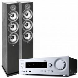 Onkyo R-N855 + ELAC Debut 2.0 F6.2...