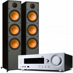Onkyo R-N855 + Monitor 300 Zestaw...